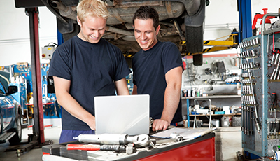 quickbooks for auto repair shop