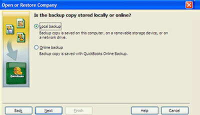 Restore a (.QBB) File in QuickBooks