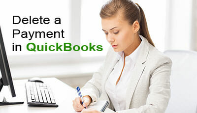 delete a payment in quickbooks