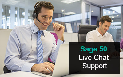 Sage 50 live chat support